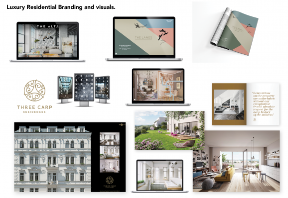Luxury Residential Branding and visuals